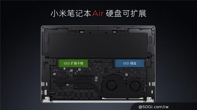 小米笔电Air正式发布 8.2起线上线下开卖